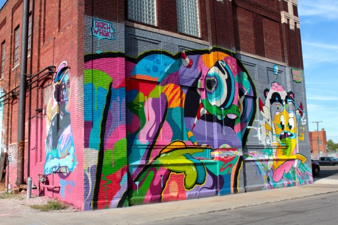 Street art in Detroit