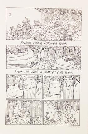 comics 4 zelasko old man, the dog and ocean