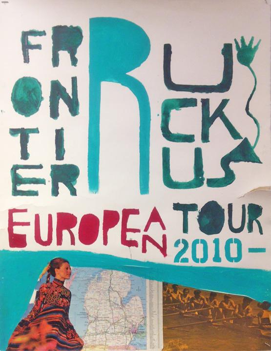 silly 7 matt milia european 2010 tour poster