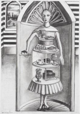 Diner Party Dress by Sue Carman-Vian